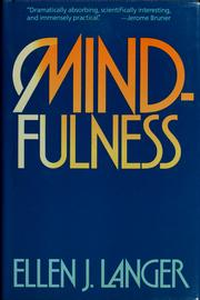 Cover of: Mindfulness | Ellen J. Langer