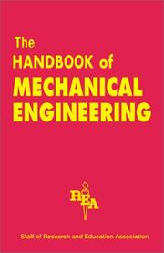 Cover of: Mechanical Engineering Handbook (Reference)