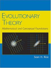 Cover of: Evolutionary Theory | Sean H. Rice