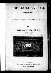 Cover of: The golden dog | Kirby, William