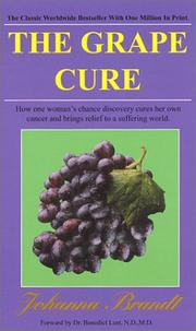 Cover of: Grape Cure | Johanna Brandt