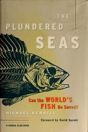 Cover of: The plundered seas | Michael Berrill