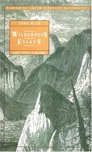 Cover of: Wilderness essays