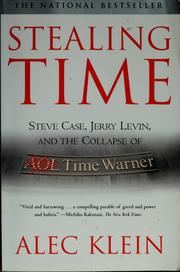 Cover of: Stealing Time | Alec Klein