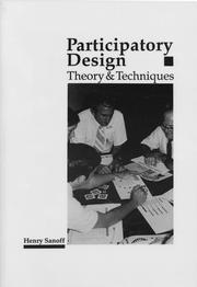Cover of: Participatory Design: Theory and Techniques