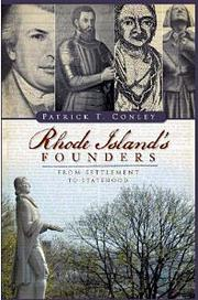 Cover of: Rhode Island's founders | Patrick T. Conley