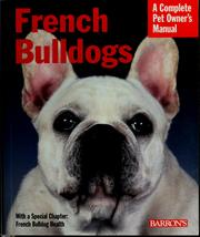 Cover of: French bulldogs | D. Caroline Coile