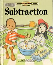 Cover of: Subtraction | Sheila Cato