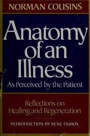 Anatomy of an illness as perceived by the patient (1979 edition ...