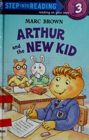Cover of: Arthur and the new kid | Marc Tolon Brown