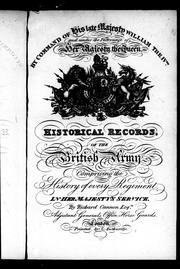 Cover of: Historical record of the Thirteenth, First Somerset, or the Prince Albert