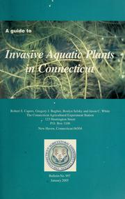 A guide to invasive aquatic plants in Connecticut