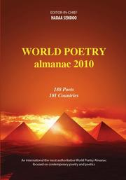 Cover of: WORLD POETRY ALMANAC 2010, 188 Poets from 101Countries
