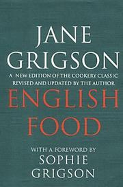 Cover of: English food | Jane Grigson