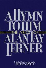 Cover of: A hymn to him