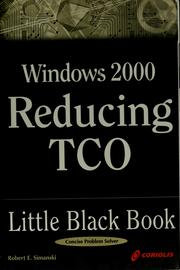 Windows 2000 reducing TCO