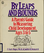 Cover of: By leaps and bounds | C. Gary Roper