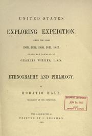 United States Exploring Expedition by Horatio Emmons Hale