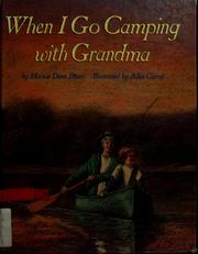Cover of: When I go camping with Grandma | Marion Dane Bauer