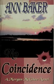 Cover of: No Coincidence | Ann Baker