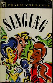 Cover of: Singing | Susan Sutherland