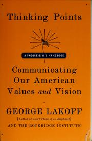 Cover of: Thinking points | George Lakoff