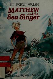 Cover of: Matthew and the sea singer