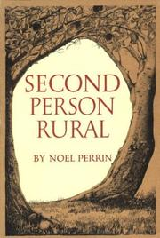Cover of: Second person rural