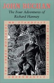 Cover of: The four adventures of Richard Hannay