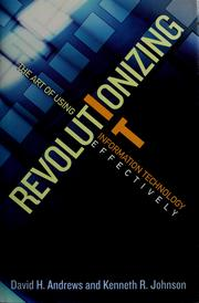 Cover of: Revolutionizing IT | Andrews, David H.