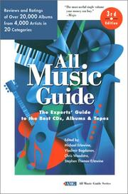 Cover of: All Music Guide |