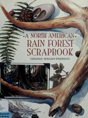 Cover of: A North American Rain Forest Scrapbook | Virginia Wright-Frierson