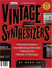 Cover of: Vintage Synthesizers | Mark Vail