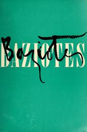 Cover of: William Baziotes | Solomon R. Guggenheim Museum.