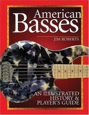 Cover of: American Basses