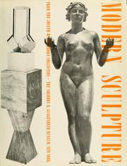 Cover of: Modern sculpture from the Joseph H. Hirshhorn Collection. | Solomon R. Guggenheim Museum.
