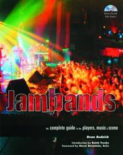 Cover of: Jambands
