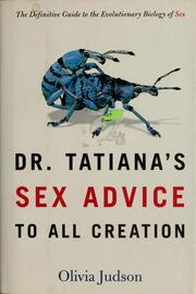 Dr. Tatiana's sex advice to all creation