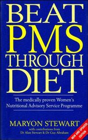 Cover of: BEAT PMS THROUGH DIET | GUY ABRAHAM MARYON STEWART