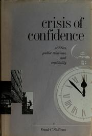 Cover of: Crisis of confidence | Frank C. Sullivan