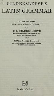 Cover of: Gildersleeve