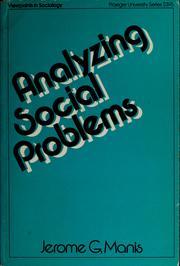 Analyzing social problems