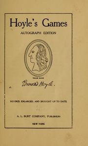 Cover of: Hoyle