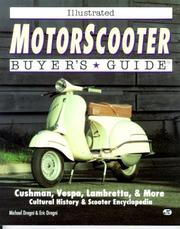 Cover of: Illustrated motorscooter buyer's guide