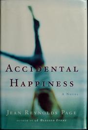 Cover of: Accidental happiness | Jean Reynolds Page