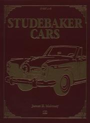 Cover of: Studebaker cars | James H. Moloney