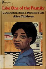 Cover of: Like one of the family | Alice Childress