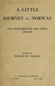 Cover of: A little journey to Norway | Lida E.] [from old catalog Randall