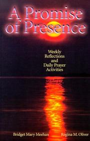 Cover of: A promise of presence | Bridget Mary Meehan