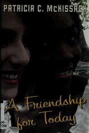 Cover of: A friendship for today